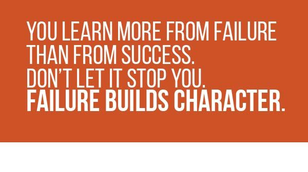 Are You Failing Forward?