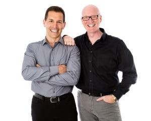 Eric Deschamps and Trefor Munn-Venn