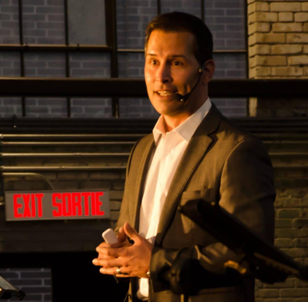 Eric Deschamps - Professional Speaker Ottawa